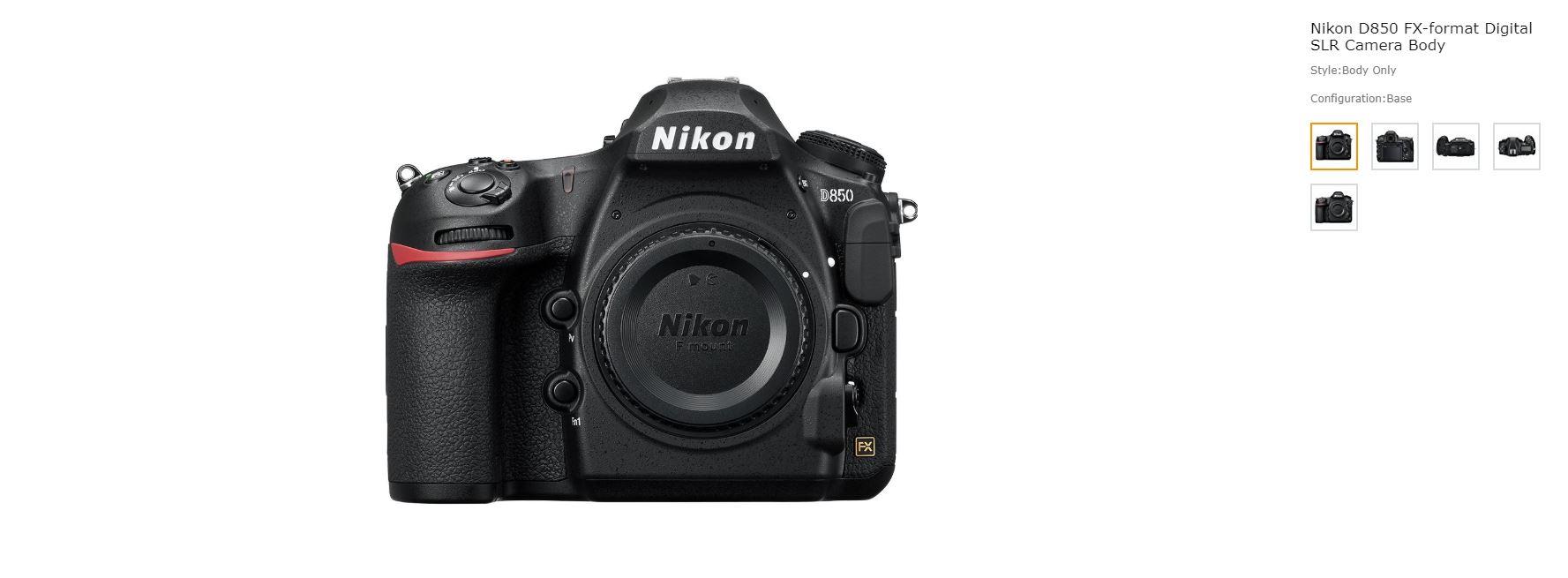 Nikon D850 Good luck getting one!!